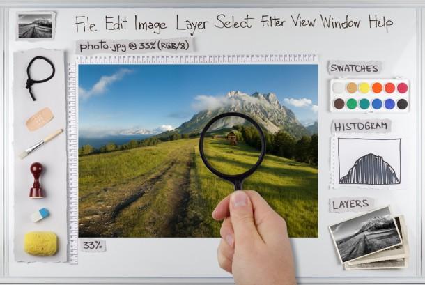 PhotoShopの基礎講座新規作成と保存